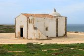 Chapel In Sagres, Algarve, Portugal