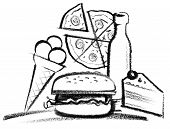 Fastfood Illustration