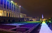 Mont Des Arts In Brussels.