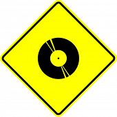 lp disc sign