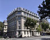 Paris-august 15-Paris building