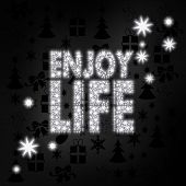 Noble Enjoy Life Symbol With Stars