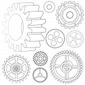 Various Vector Gears