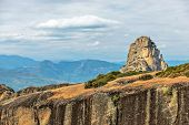 Meteora Cliffs In Greece