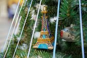 Eifel Tower On A Tree