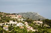 Luxury Plaster Homes On Eze Hillside