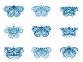 Metaphorical Fractal Butterflies