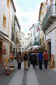 Most Popular Tourist Shopping Street In Evora