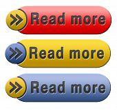 Read more button or icon
