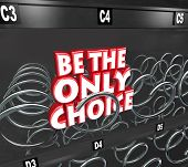 Be Only Choice Words Snack Vending Machine Competitive Advantage