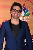 LOS ANGELES - MAY 1:  Bobby Bones at the 1st iHeartRadio Music Awards Press Room at Shrine Auditoriu