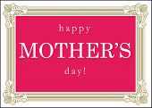 Happy Mother's Day Card Sign