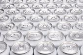 Plain Aluminum Beverage Cans