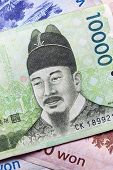 picture of won  - Korean money - JPG