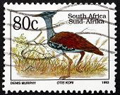 Postage Stamp South Africa 1993 Kori Bustard, Bird