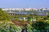 foto of kiev  - Panorama of the city of Kiev - JPG