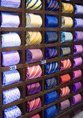 Neckties In A Row