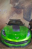 Corvette Stingray C7 concept from new movie Transformers Age of Extinction