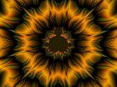 Flash Mandala Background