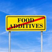 Food Additives Prohibited