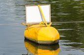 Buoy, Yellow, Black