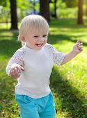 Happy Baby Boy Outdoor