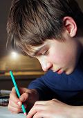 Teenager Drawing