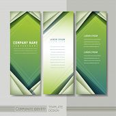 Hi-tech Background Design For Banners Set