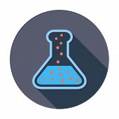 Chemisty flat icon