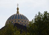 Dome of the New Synagogue in Berlin