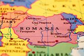 Romania On Map