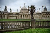 foto of saracen  - Picturesque view of the external facade of the Brighton Royal Palace Pavilion  - JPG