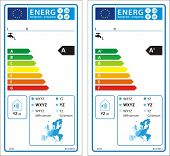 Solar water heaters new energy rating graph label