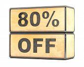 80 percent Sale Discount