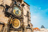 Astronomical Clock In Prague, Czech Republic