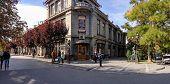 Simferopol, Ukraine - Oct 7, 2014: Crimean Russian Drama Theater Opens Its 196Th Year Of Operation A