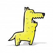 cartoon barking dog