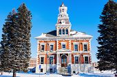 picture of illinois  - Old courthouse in Macomb McDonough County Illinois United States - JPG