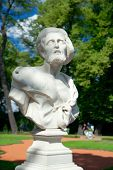 Постер, плакат: Bust Of Diogenes Summer Garden Saint Petersburg