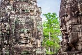 foto of stone sculpture  - Stone murals and sculptures in Angkor wat Cambodia - JPG