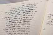 image of hebrew  - Hebrew Bible open to Isaiah 53 in the BHS - JPG