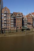picture of fleet  - The old houses at the Nicolai Fleet  - JPG