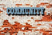 stock photo of coexist  - Community Concept  - JPG