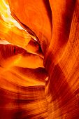 foto of antelope  - Inside the Upper Antelope Canyon  - JPG