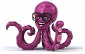 stock photo of octopus  - Fun octopus - JPG