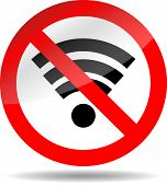 picture of bans  - Ban wifi internet - JPG