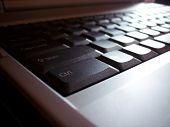 Laptop Keyboard poster