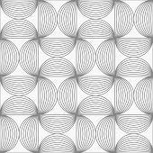 stock photo of semi-circle  - Gray seamless geometrical pattern - JPG