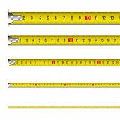 image of tape-measure  - The vector illustration of a tape measure - JPG