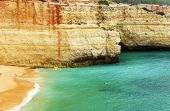 pic of promontory  - Benagil Beach - JPG